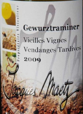3 x Gewurztraminer Vendanges Tardives 2008