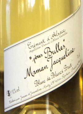 3 x Crémant d'Alsace 1ères Bulles Maman Jacqueline