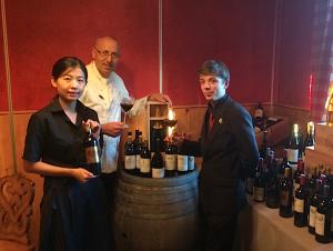 Vente de vins au Rosenmeer avec Hubert Maetz