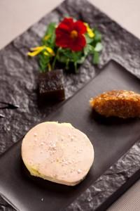 Le foie gras de canard et d'oie d'Hubert Maetz au Rosenmeer