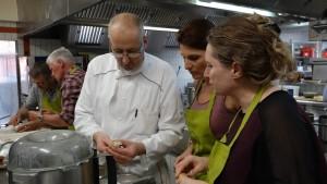 Cours de cuisine au Rosenmeer avec Hubert Maetz