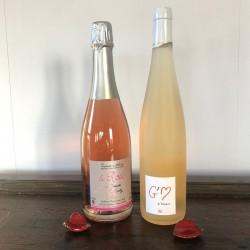 Coffret Crémant Rosé + G'M...