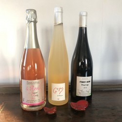 Crémant Rosé + Pinot Noir...