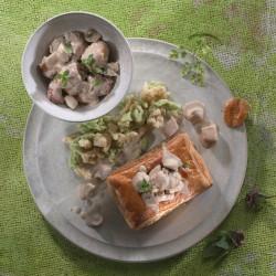 rosenmeer, bouchée à la reine au ris de veau, alsace, rosheim, hubert maetz, menus,  week-end