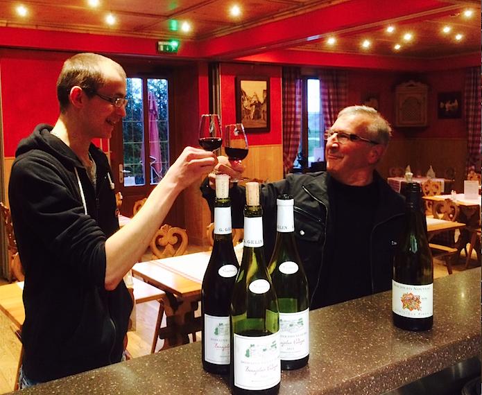 Nous aimons le Beaujolais nouveau 2015 au Rosenmeer à Rosheim