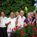 Garden Party au Rosenmeer à Rosheim chez Hubert Maetz 5