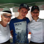 Patricia Catenne et maman avec Antoine Maetz à Andlau